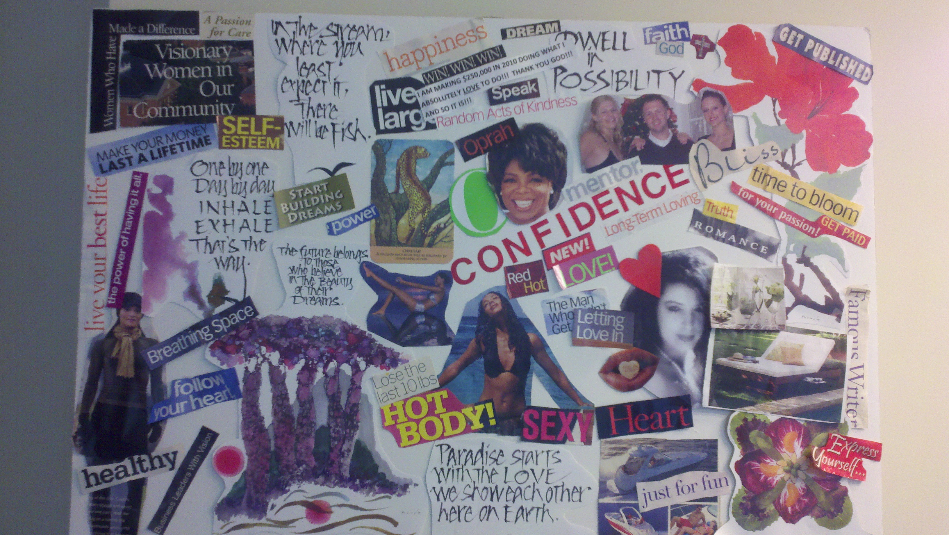 Dream Boards And Vision Boards How To Create Your Own