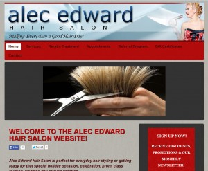 alec edward hair salon website