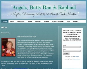Angels Betty Rae and Raphael