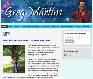 greg martins music